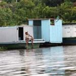 Pantanal: Erstmals mobiler Gerichtssaal per Schiff auf Rio Paraguai im Einsatz