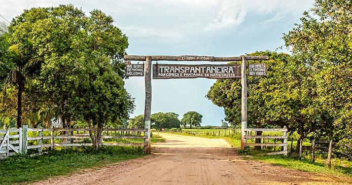 Das nördliche Tor zum Pantanal - Foto: sabiá brasilinfo
