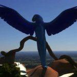 Gigantische Statue im Pantanal als Touristenattraktion