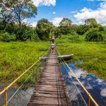 Pantanalstadt Corumbá: Mit Totems durch Natur und Stadt surfen